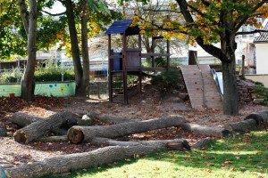 Spielplatz des evang. Kindergartens