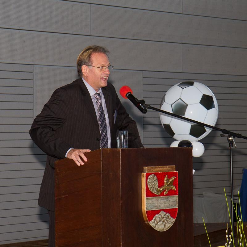 Der Referatsleiter des Sportministeriums Rheinland Pfalz, Harry Herrmann