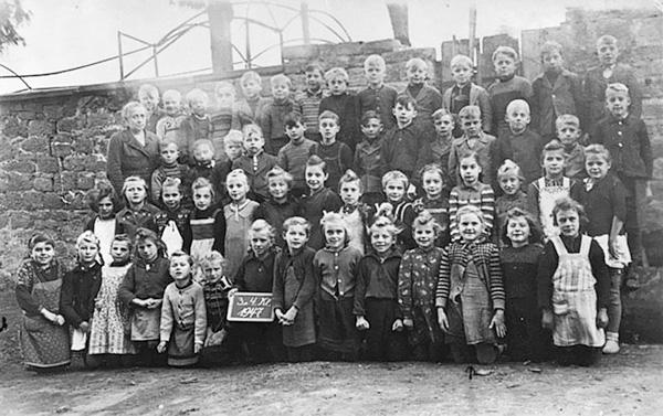 Schulklasse von 1947