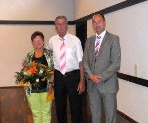 Norbert Forstner und seine Frau Irene Forstner werden verabschiedet