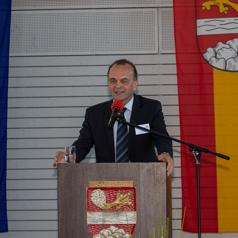 Grußwort des Landrats Dr. Fritz Brechtel