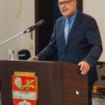 Verbandsbürgermeister Volker Poß während seiner Begrüßungsansprache